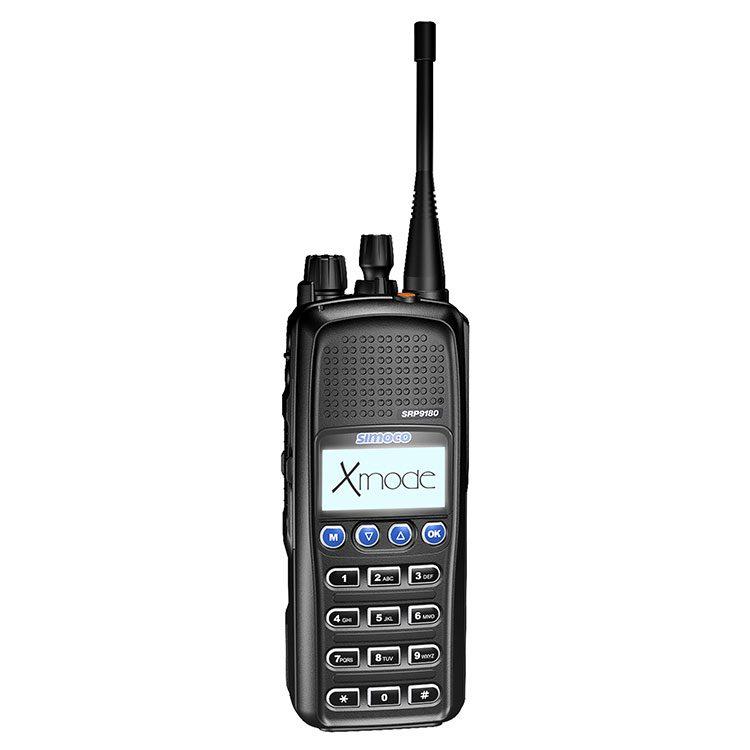 SRP9180 Portable Radio - Simoco Wireless Solutions