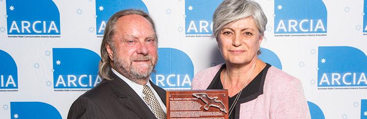 Connie Taylor receives prestigious Jonathan Livingstone Seagull Award